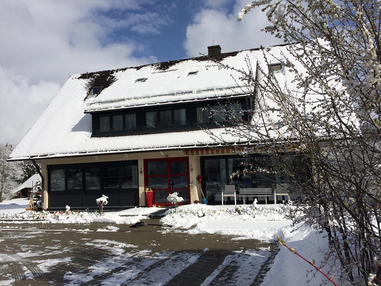 Gaestehaus Baur Winter