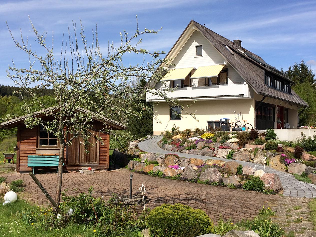 Gaestehaus Baur Frühling